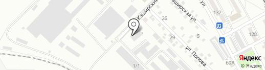 Форвард на карте Хабаровска