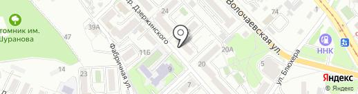 СОВРЕМЕННЫЕ ФАСАДНЫЕ СИСТЕМЫ на карте Хабаровска
