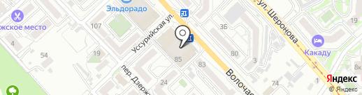 ART Studio Golden Crown на карте Хабаровска