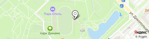 ДВ Успех на карте Хабаровска