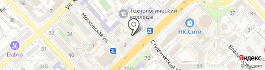 Суши Wok на карте Хабаровска