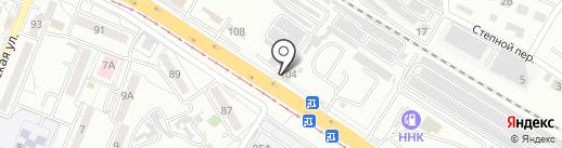 Трейд-Восток на карте Хабаровска