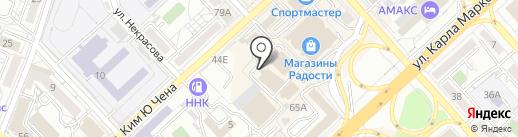 ЛСТК Проект-ДВ на карте Хабаровска