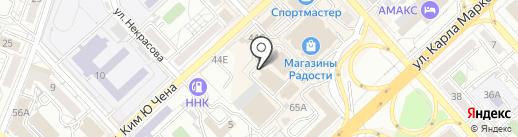 Монтажная компания на карте Хабаровска