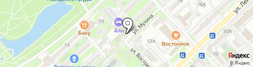 Али на карте Хабаровска