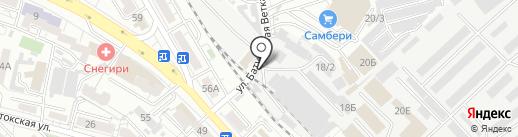 Магазин сухофруктов на карте Хабаровска