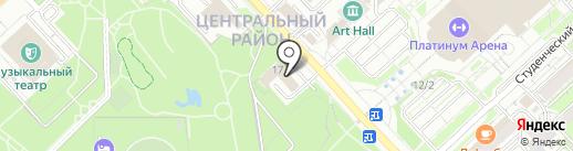 Управление промышленности и связи на карте Хабаровска