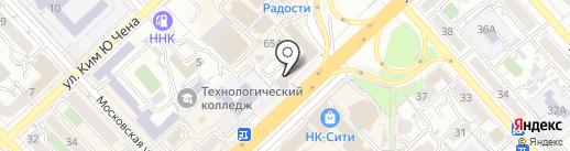 EcoOndol на карте Хабаровска