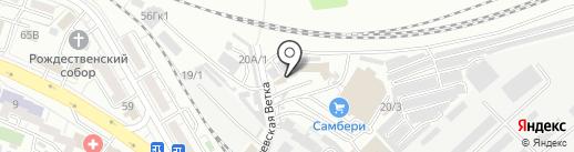 Фаворит на карте Хабаровска