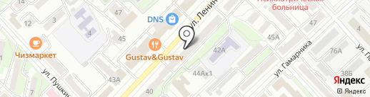 Суши Мастер на карте Хабаровска