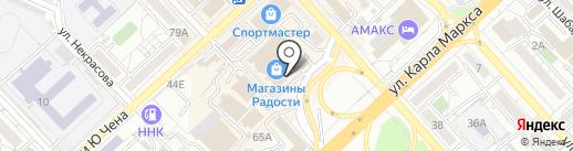 Oodji на карте Хабаровска