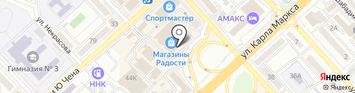 Kot Pilot на карте Хабаровска