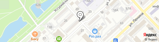Восточная коалиция на карте Хабаровска