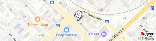 1С:БухОбслуживание. Инфолайн Консалтинг на карте Хабаровска