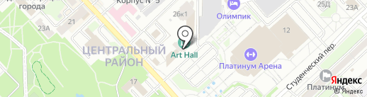 Callisto на карте Хабаровска