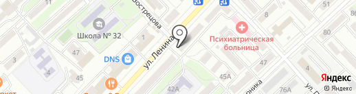 Салон красоты на карте Хабаровска