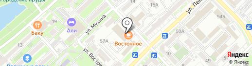 Опора, АНО на карте Хабаровска