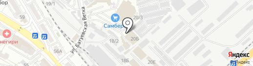 Азбука мебели на карте Хабаровска