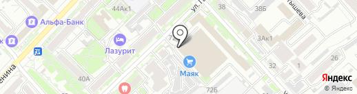 Мастер Кейк на карте Хабаровска