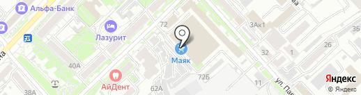 Механик-ДВ на карте Хабаровска