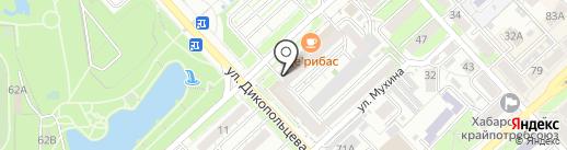 Позитив-Амур на карте Хабаровска