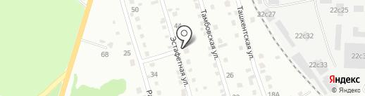 Новый ЭВР на карте Хабаровска