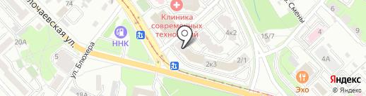 МедВлад на карте Хабаровска