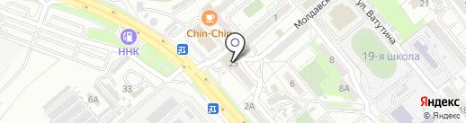 АБАВоз на карте Хабаровска