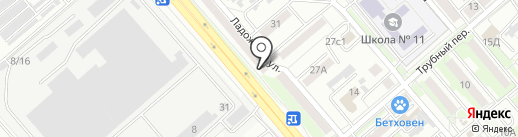 АбаАвто на карте Хабаровска