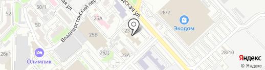 Вега-Эко на карте Хабаровска