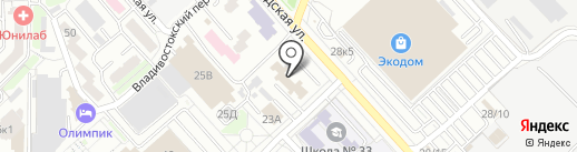 Энерго-сервис на карте Хабаровска