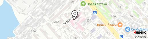 Комплимент на карте Хабаровска