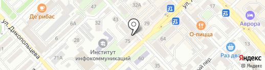 Студия красоты на карте Хабаровска