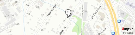Компания по предоставлению услуг автовышки на карте Хабаровска