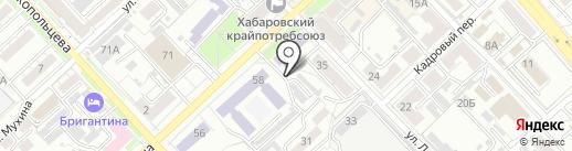 Страж-сервис на карте Хабаровска