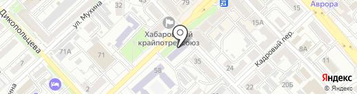 ПВА-студио на карте Хабаровска