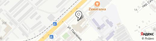 Хабаровская таможня на карте Хабаровска