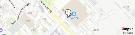 Дверной стиль на карте Хабаровска