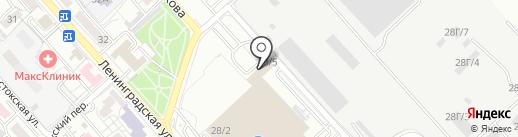 Оптовая компания на карте Хабаровска