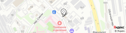 Сахэкспо на карте Хабаровска