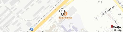 Оптика на карте Хабаровска