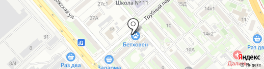 Звезды танца на карте Хабаровска