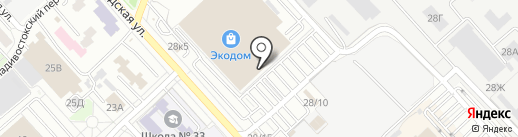 CENTRSVET.RU на карте Хабаровска
