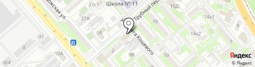 Baker Street на карте Хабаровска