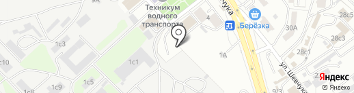 CROWN на карте Хабаровска