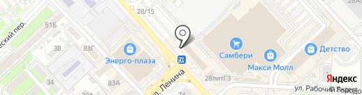 Дальтехнотрейд на карте Хабаровска
