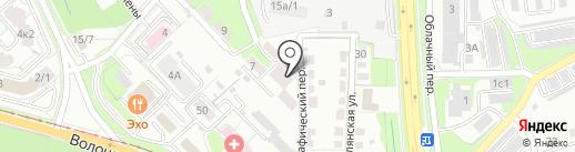 Амур-автоматика на карте Хабаровска