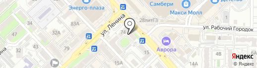 Золушки ДВ на карте Хабаровска