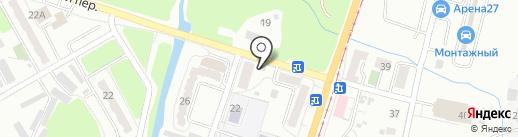 Пятачок на карте Хабаровска