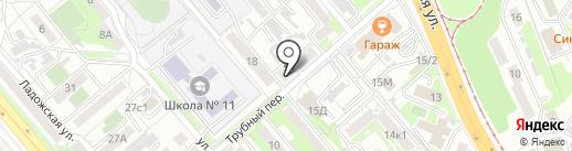 Первый парикмахерский на карте Хабаровска